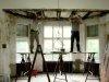 Restaurierung der Decke, bedandbreakfast-leer