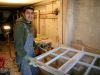 Restaurierung von Fensterrahmen, bedandbreakfast-leer