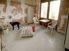 Sanierung der Küche, bedandbreakfast-leer