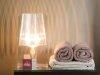 Klipper, Schlafzimmer, Nachttisch bedandbreakfast-leer